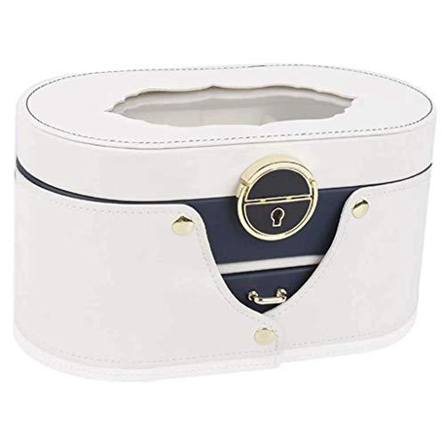 SHUMEISHOUT Jewelry Box and Jewelry Organizer Watch Storage Jewelry Organizer Funda de Almacenamiento duplicado Regalo (Color : Black)