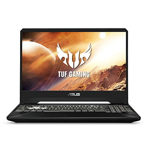 "Asus TUF FX505DT Gaming Laptop, 15.6"" 120Hz Full HD, AMD Ryzen 5 R5-3550H Processor,    GeForce GTX 1650 Graphics, 8GB DDR4, 256GB PCIe SSD, Gigabit Wi-Fi 5, Windows 10 Home, FX505DT-AH51, RGB Keyboard"
