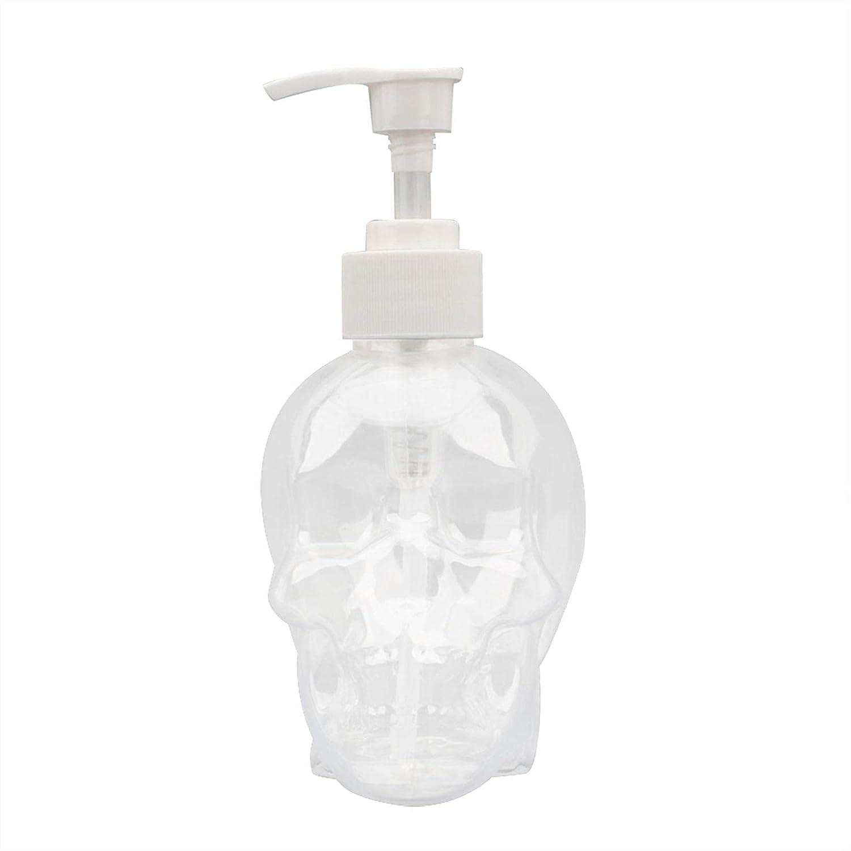 Pump Bottle Dispenser Skull Liquid Philadelphia Mall R Plastic 350ml Empty Limited Special Price