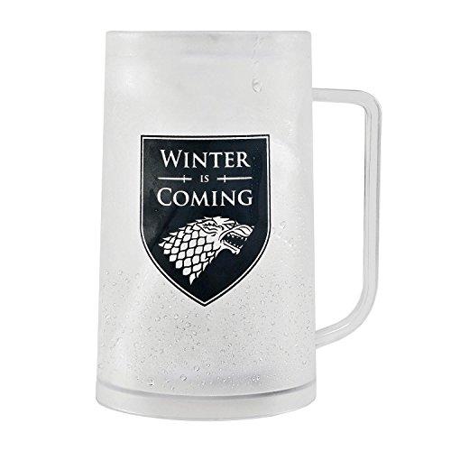 Jarra de Cerveza Game Of Thrones - Freezable Tankard Winter is Coming/Stark
