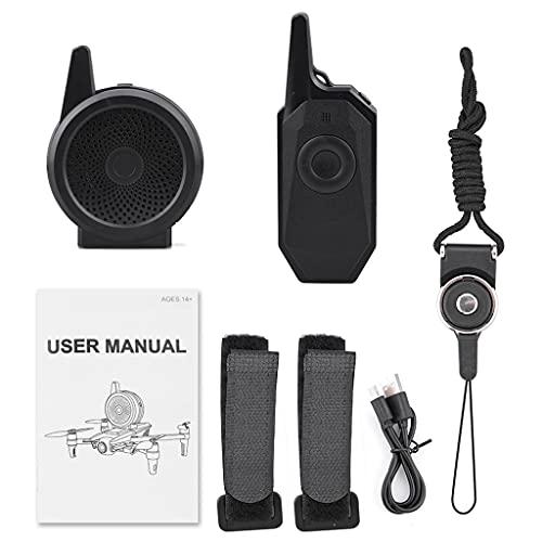 IOOOFU Kit d accessoires pour mégaphone de Drone Mini Haut-Parleur sans Fil