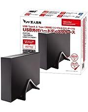 玄人志向 HDDケース 3.5型対応 USB3.2 Gen2 接続 最大16TBの大容量HDDに対応 / シンプル&スタンダード USB外付 HDDケース GW3.5AM-SU3G2P
