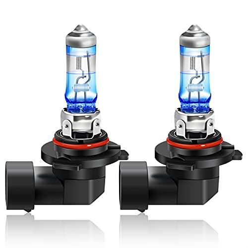 WinPower HB4/9006 Bombilla, +20% Luz Blancas Coche Luz Antiniebla Lámpara Halógena Faros Delanteros Luz de Cruce 12V 55W Moto DRL, 2 Piezas
