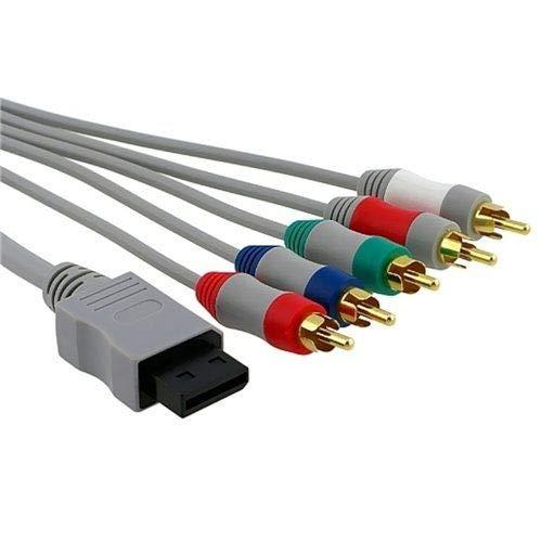 CABLEPELADO Cable Video componente para Wii Gris