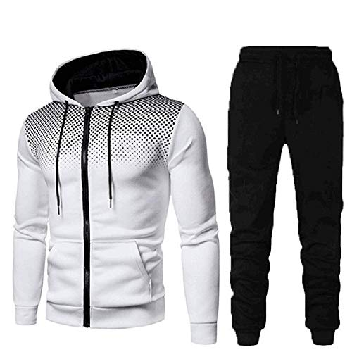 Hombres Ropa Deportiva Sudaderas+Pantalones Deporte Trajes Para Hombres Sudadera Casual Deportes Camisa Streetwear