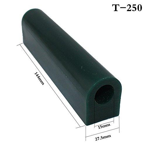 cnmade Wachsrohr zum Schnitzen, für Schmuck/Ringe, grün, rund, massiv, Schnitzwachs, grün, T250