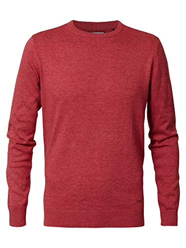 PETROL INDUSTRIES 424931_Rot_M_201 Sweater, Rouge, M Homme