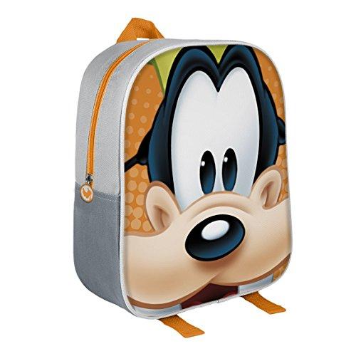Disney 210000159731cm Pippo effetto 3d Junior Zaino