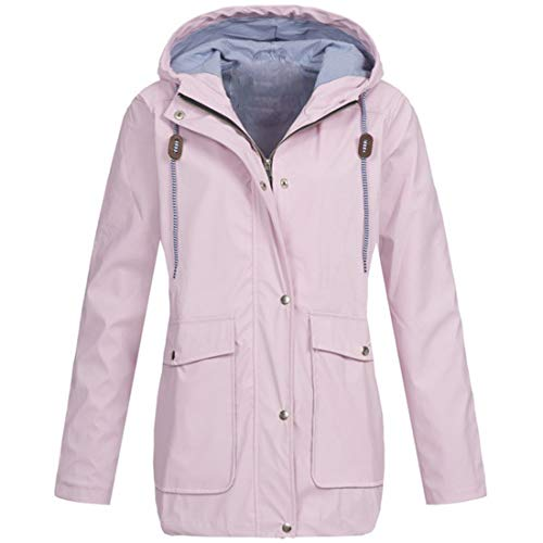 MENAB Women's Brigid Waterproof Hydrafort Taped Seams Durable Water Repellent Finish Thermoguard Insulation Jacket Softshell Jacket with Removable Hooded,Fleece Lined Waterproof Windproof Warm