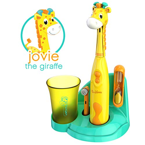 Brusheez Kid's Electric Toothbrush Set (Safari Edition) -...