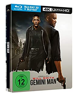 Gemini Man limitiertes Steelbook [3D Blu-ray, 4K UHD] (exklusiv bei Amazon.de)