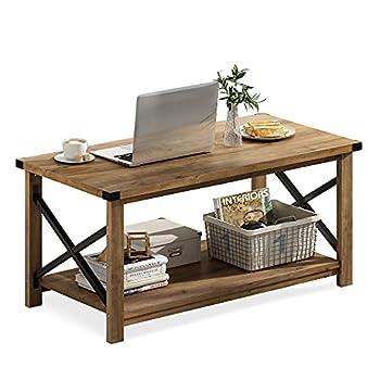 Best rustic oak coffee table Reviews