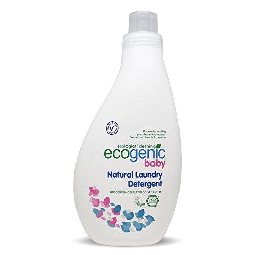 Ecogenic Baby Flüssigwaschmittel, Natürlich, Ökologisch, 1000 ml, Speziell für Babykleidung, vollständig biologisch abbaubar (1 x 1000ml)