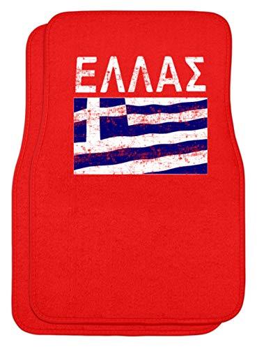 Griechenland - Fahne, Flagge, Griechisch, Grieche, Griechin, Hellas, Hellenen, Athen - Automatten