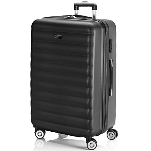 ITACA - 71270 TROLLEY ABS EXTENSIBLE GRANDE, Color Antracita