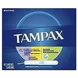 Tampax Cardboard Applicator Tampons, Light/Regular/Super Absorbency Multipack, Unscented, 40 count - Pack of 3 (120 Total Count)
