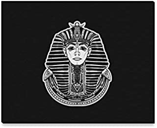 GIRLOS Wall Art Painting Pharaoh Tattoo Art Egypt Pharaoh Graphic T Shirt Prints On Canvas The Picture Landscape Pictures Oil for Home Modern Decoration Print Decor for Living Room