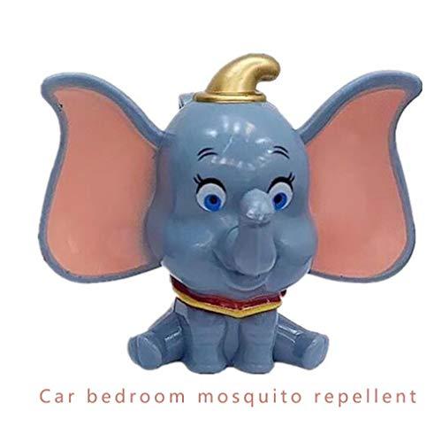 Mückenschutz Aromatherapie Anhänger, Innen Mückenschutz Clip wasserdicht Insektenschutzmittel ist natürlich für Haushaltsautos geeignet (6 Stück) XYQB