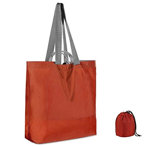 ROSA&ROSE Borsa da Spiaggia Idrorepellente per le Donne Grocery spalla Shopping Bag riutilizzabili per Viaggio, Appuntamento, Spiaggia, Nuoto, Campeggio, la Palestra