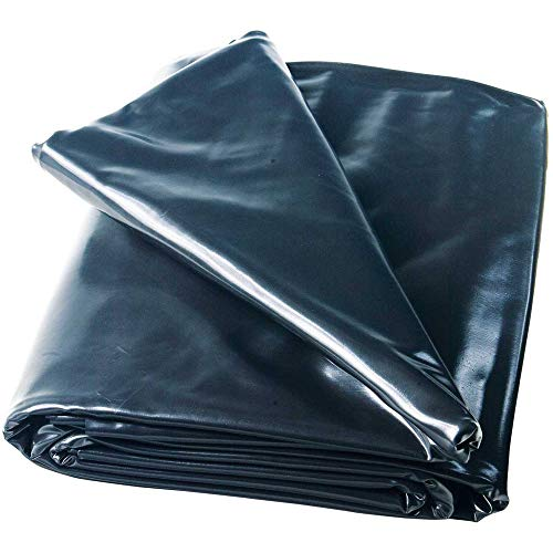 Heissner Teichfolie PVC schwarz, Stärke 0,5 mm von 6-48 m² 3 x 4 m