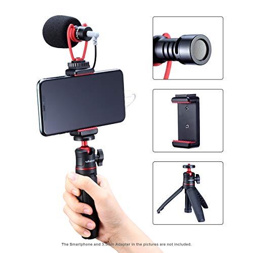 Smartphone Vlog Set met Statief + Microfoon + Telefoon Klem