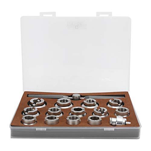 Kits De Herramientas De ReparacióN De Relojes, Llave Para Quitar Abrelatas De La Cubierta De La Caja Trasera Del Reloj Con Troqueles De 18,5 A 36,5 Mm