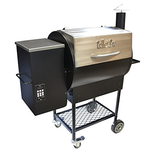 Fantastic Prices! Pellet Pro Deluxe Stainless 770 Pellet Grill - with PID Controller, 35lb Capacity ...