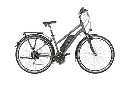 FISCHER Damen - E-Bike Trekking ETD 1806 (2018), anthrazit matt, 28