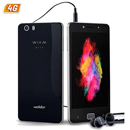 Wolder - Wiam #71+ smartphone 3 gb ram 32 gb flash. cámara frontal 13 mpx. cámara trasera 21 mpx y sensor de huellas