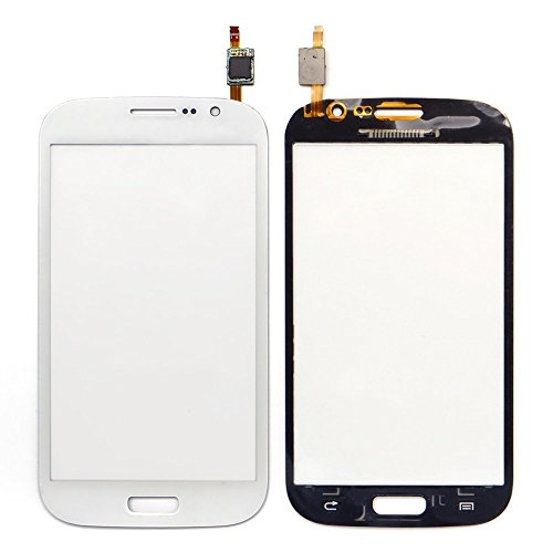 WeDone Compatibile con Samsung Galaxy Grand Neo i9060 i9062 Touch Screen Digitizer Schermo Vetro (Senza LCD Display) di Ricambio e Strumenti Gratuiti (Bianco)