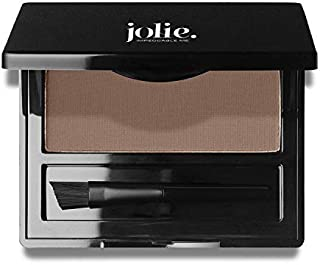 Jolie Brush on Brow Pressed Eye Brow Powder (Soft Smoke)