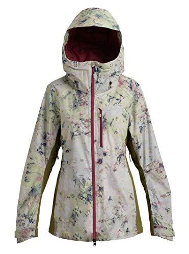Burton Womens Ak Gore-Tex Upshift Jacket, Sadie A/Martini Olive, Medium