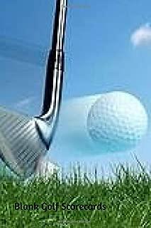 Blank Golf Scorecards: Mini Golf Book