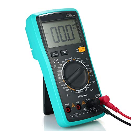 Fantastic Prices! t9 Digital Multimeter with Hanging Magnet, Has Large LCD Screen Display, Built in ...