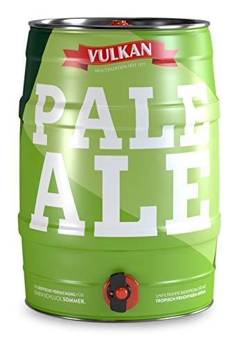 VULKAN Pale Ale 5 Liter Partyfass, Dose, Fass mit Zapfhahn und Tragegriff (Pfandfrei) (4,38€/l)