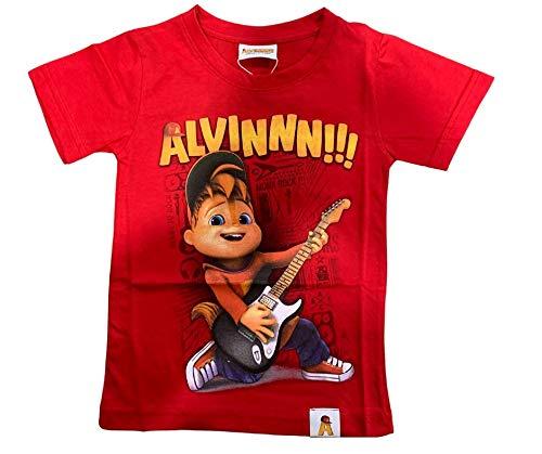 T- Shirt Alvin Guitar Original (8 Anni)