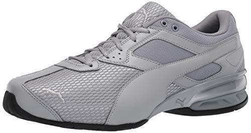 PUMA Women's Tazon 6 Shoe, Quarry-Silver, 6 M US
