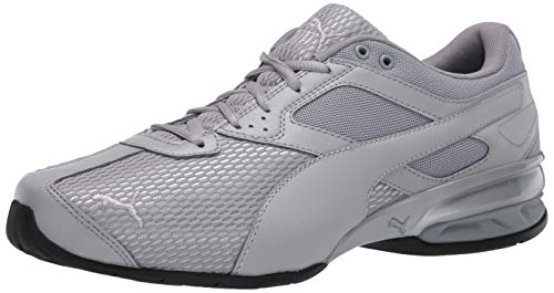 PUMA Women's Tazon 6 Sneaker, Quarry-Silver, 8.5 M US