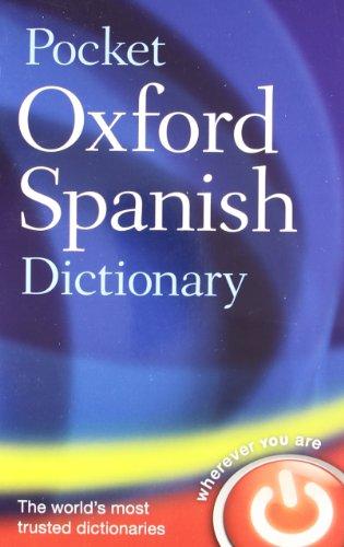 Download Pocket Oxford Spanish Dictionary: Spanish-english, English-spanish 0199560773