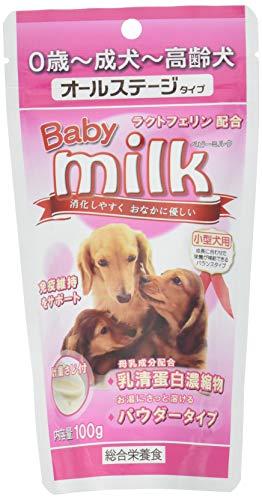 ニチドウベビーミルク小型犬用100g