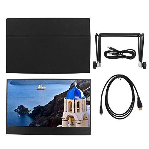 Tragbarer Monitor, Tragbarer 15,6-Zoll-HDMI-Bildschirm, 1080P...