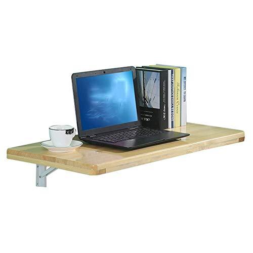 Wangczdz Bureau van hout, aan de muur gemonteerd, voor laptop/notebook, inklapbaar, plank voor keuken