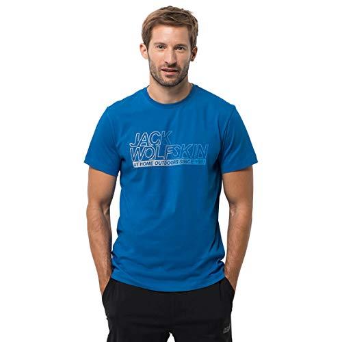 Jack Wolfskin Ocean T-Shirt à Manches Courtes pour Homme XL Bleu électrique