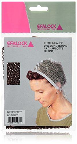 Efalock Bonnet frisier Marron, Lot de 2 (2 x 1)