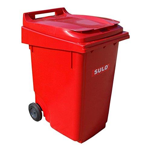 Sulo Mülltonne 360 Liter, rot