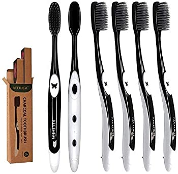 6-Pack Auperwel Soft Toothbrushes