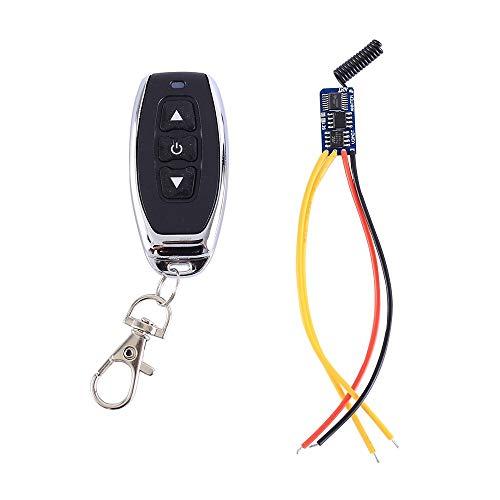 Micro Power Motor Modul, Wireless Transceiver Modul 433MHz DC 3.5V-12V Treiber Wireless Fernbedienungsschalter Modul Forward Reverse Controller Selbsthemmend