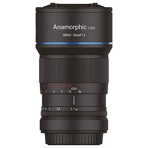 SIRUI 50mm f1.8 Anamorphic Lente 1.33x (MFT Mount)