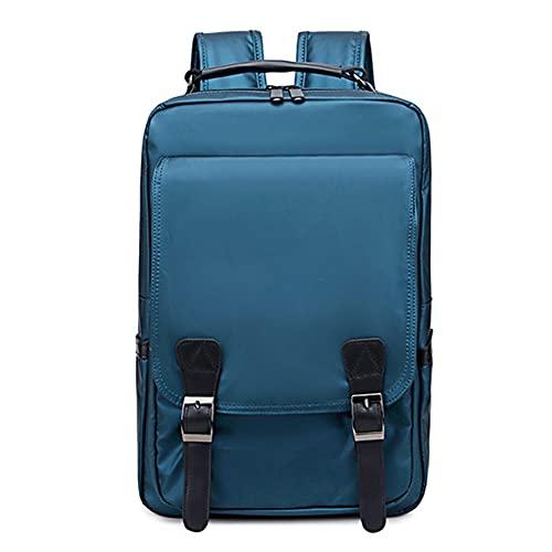 15.6En la mochila de nylon de la computadora portátil, mochila de la computadora de la computadora resistente al agua, para viajes / casual / escuela / senderismo Regalo de regalo Mochila,B,One Size