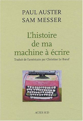 Histoire de ma machine a ecrire (Arts plastiques)